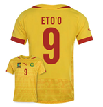 2014-15 Cameroon World Cup Away Shirt (Etoo 9)