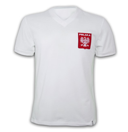 Poland 1970's Short Sleeve Retro Shirt 100% cotton