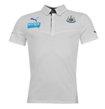2013-14 Newcastle Puma Polo Shirt (White) - Kids