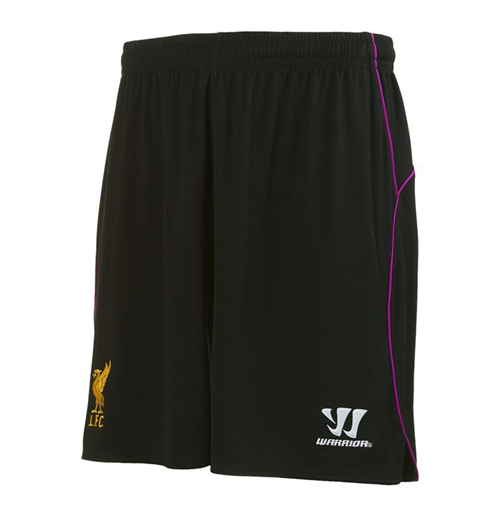 2014-15 Liverpool Home Goalkeeper Shorts (Black)