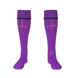 2014-15 Liverpool Home Goalkeeper Socks (Purple) - Kids