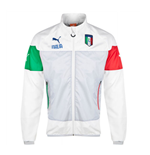2014-15 Italy Puma Leisure Jacket (White) - Kids