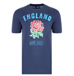 2013-14 England Uglies Cotton Tee (Navy)