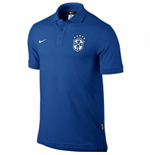 2014-15 Brazil Nike Core Polo Shirt (Blue)