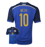 2014-15 Argentina World Cup Away Shirt (Messi 10) - Kids