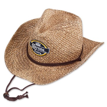 fb1807bc264bb5 Official CORONA EXTRA Brown Straw Cowboy Hat: Buy Online on Offer