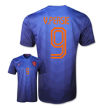 2014-15 Holland World Cup Away Shirt (v.Persie 9) - Kids