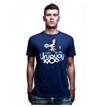 Uruguay 1980 Vintage T-Shirt // Marine Blue 100% cotton