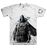 THE ELDER SCROLLS ONLINE Tibesman of the Bretons Large T-Shirt, Light Grey