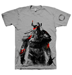 THE ELDER SCROLLS ONLINE Tribesman of the Nords Large T-Shirt, Grey