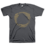 THE ELDER SCROLLS ONLINE Ouroboros Symbol Extra Large T-Shirt, Dark Grey