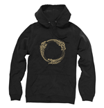 THE ELDER SCROLLS ONLINE Ouroboros Symbol Small Hoodie, Black