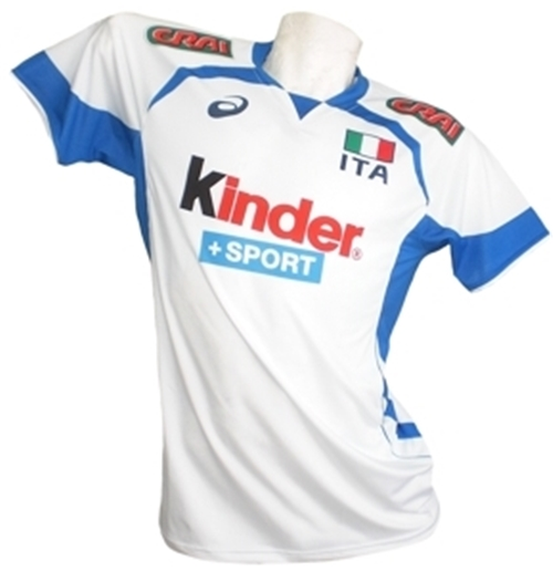 Italy Volleyball 2014/15 Away Mens Jersey