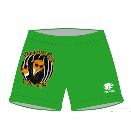 Men's Swimming Trunks - PumpKins Cage