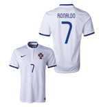 2014-15 Portugal World Cup Away Shirt (Ronaldo 7)