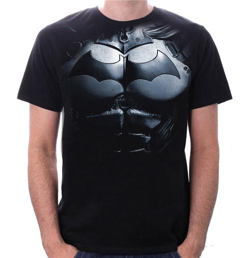 batman t shirt armor for only at merchandisingplaza uk. Black Bedroom Furniture Sets. Home Design Ideas