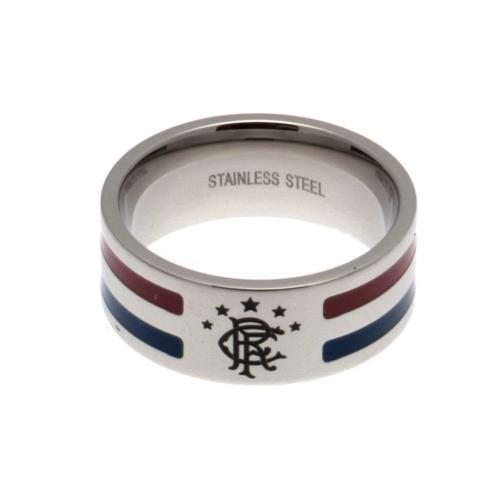 Rangers F.C. Colour Stripe Ring Medium