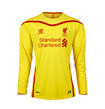 2014-15 Liverpool Away Long Sleeve Football Shirt