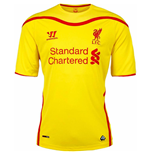 2014-15 Liverpool Away Football Shirt