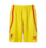2014-15 Liverpool Away Shorts (Yellow)