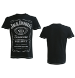 JACK DANIEL'S Classic Logo Men's Medium T-Shirt, Black