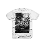 METAL GEAR SOLID Rising Slice & Dice Medium T-Shirt, Light Grey