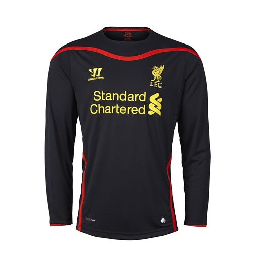 2014-15 Liverpool Away Long Sleeve Goalkeeper Shirt