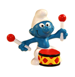 The Smurfs Figure Drummer Smurf 6 cm Case (6)
