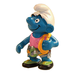 The Smurfs Figure Climber Smurf 6 cm Case (6)