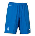 2014-15 Greece Nike Away Shorts (Blue)