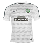 2014-15 Celtic Nike Pre-Match Training Jersey (White)