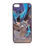 DC COMICS BATMAN iPhone 5 Comic Artwork Cover with 4D Effect, Black