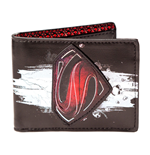 DC COMICS SUPERMAN Man of Steel Movie Bi-fold Wallet, Black