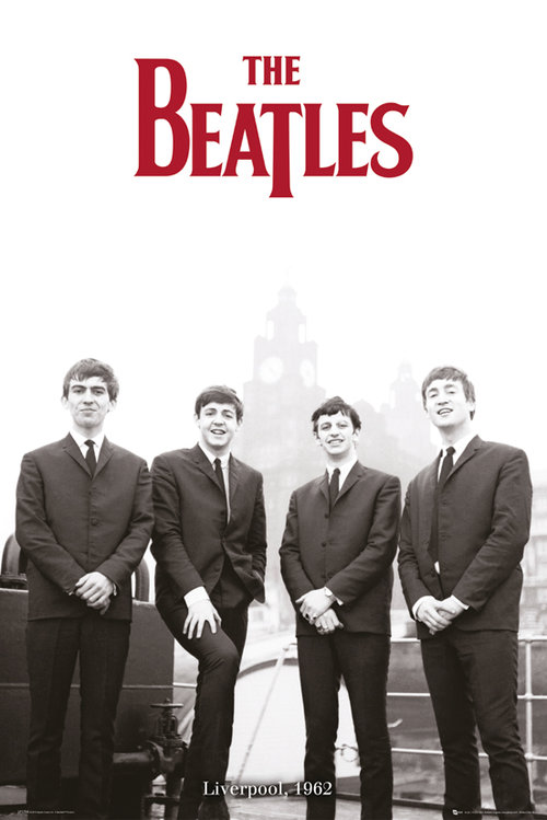 The Beatles Liverpool 62 Maxi Poster
