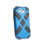 G-FORM Xtreme Samsung Galaxy S3 Case, Blue/Black RPT
