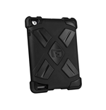 G-FORM Extreme Clip-On Case for iPad, Black/Black RPT