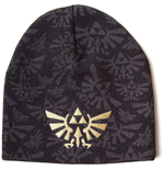 NINTENDO LEGEND OF ZELDA Beanie with Bird Logo, Black