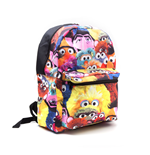 SESAME STREET Characters Design Backpack, Black