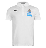 2014-15 Newcastle Puma Leisure Polo Shirt (White) - Kids