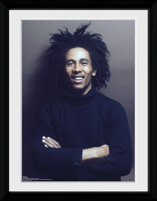 Bob Marley Wall Framed Collector Print