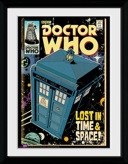 Doctor Who Tarids Comic Framed Collector Print