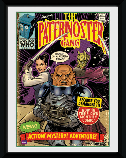 Doctor Who Paternoster Framed Collector Print