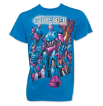 X-MEN Sentinels Men's Turquoise Tee Shirt