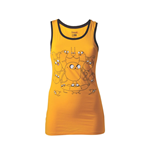 ADVENTURE TIME Jake Extra Large Tank Top, Yellow/Black