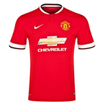 2014-15 Man Utd Home Nike Football Shirt (Kids)