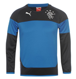 2014-15 Rangers Puma Sweat Top (Navy) - Kids