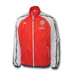 2014-2015 Arsenal Puma Anthem Jacket (Red)