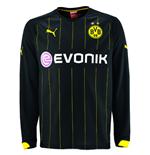 2014-2015 Borussia Dortmund Away Long Sleeve Puma Shirt