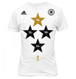 2014-15 Germany Adidas World Cup Winners Tee