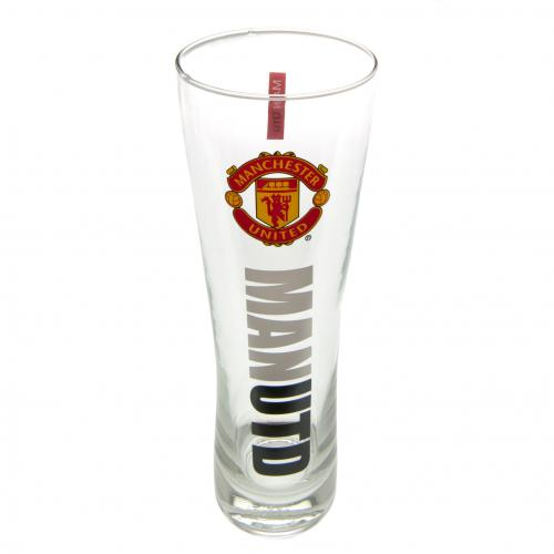 Manchester United F.C. Tall Beer Glass